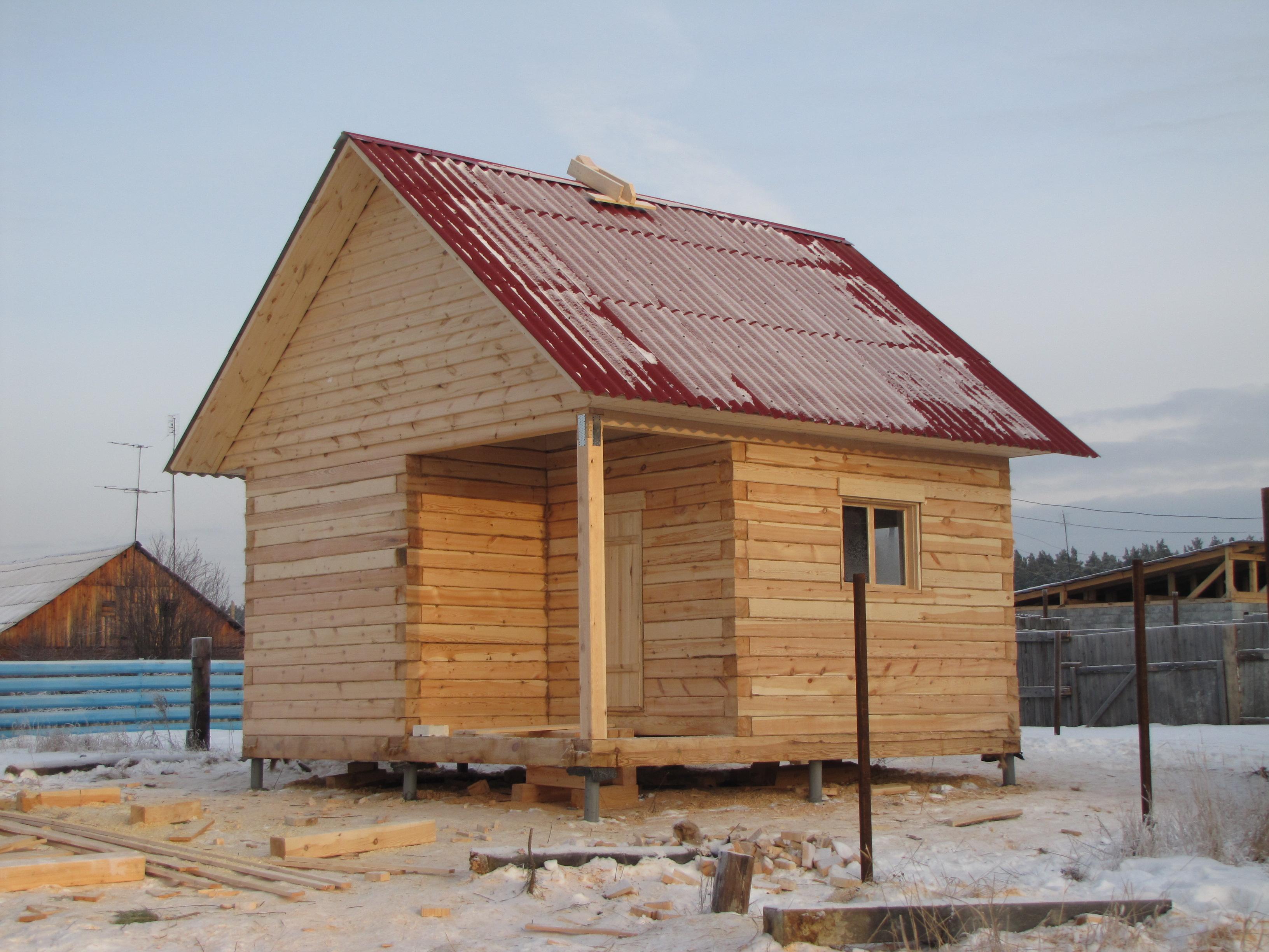 строительство бань в Екатеринбурге
