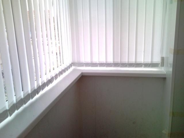 остекленный балкон с выносом