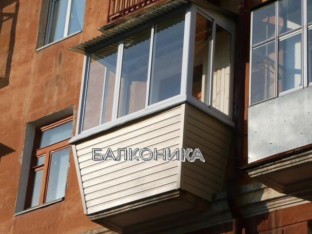 Обрушение лепнины при остеклении балкона. - балкон, рассчита.