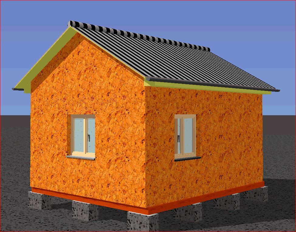 Построить дом на даче недорого