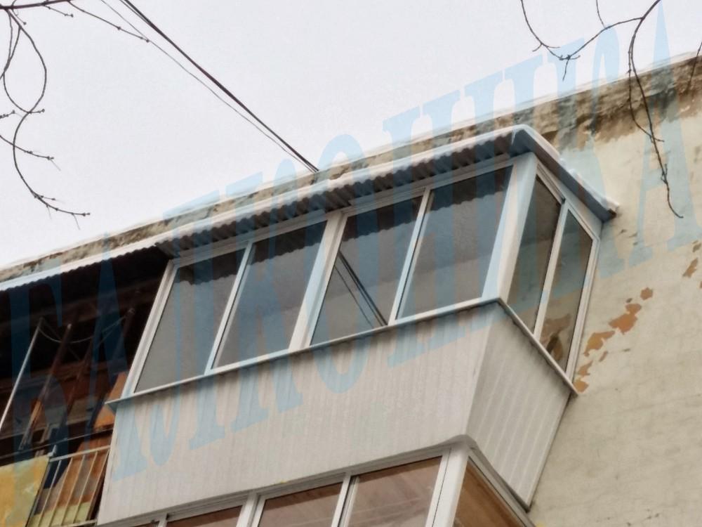 Крыша балкона - екатеринбург.