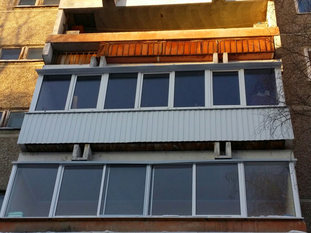 Остекление балконов, лоджий, веранд и беседок. - екатеринбур.