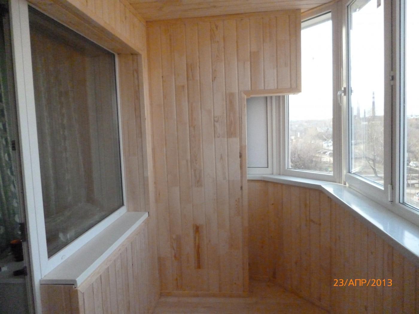 Внутренняя и наружная отделка балконов и лоджий. - екатеринб.