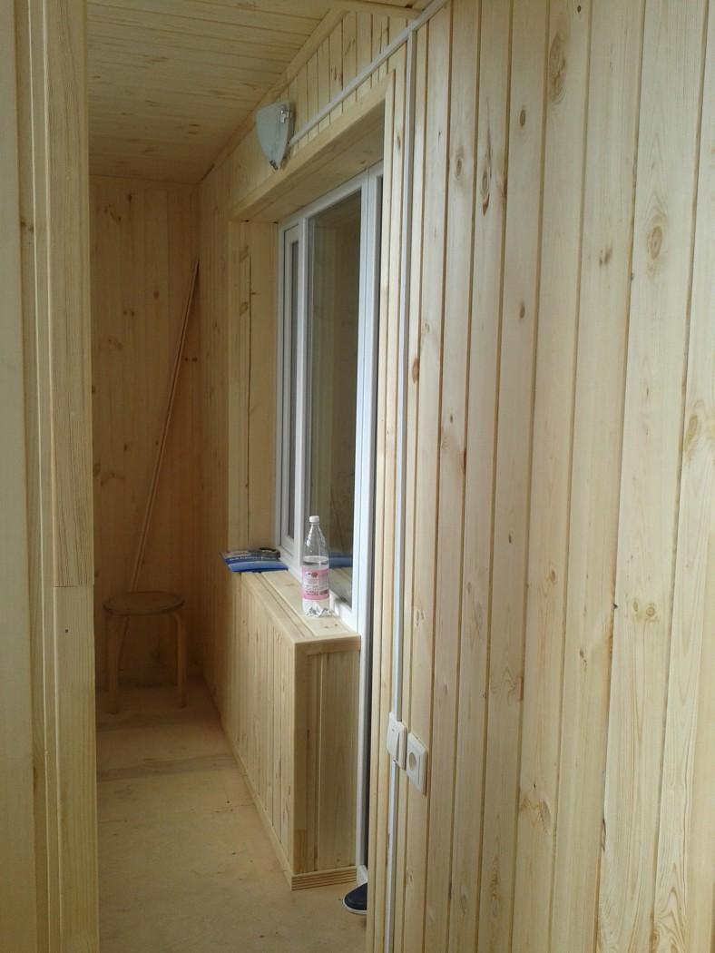 Внутренняя и наружная отделка балконов и лоджий.: отделка ба.