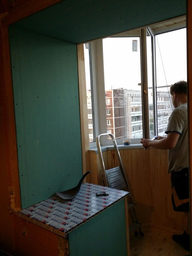 Утепление балконов и лоджий: фото выполненных работ по утепл.