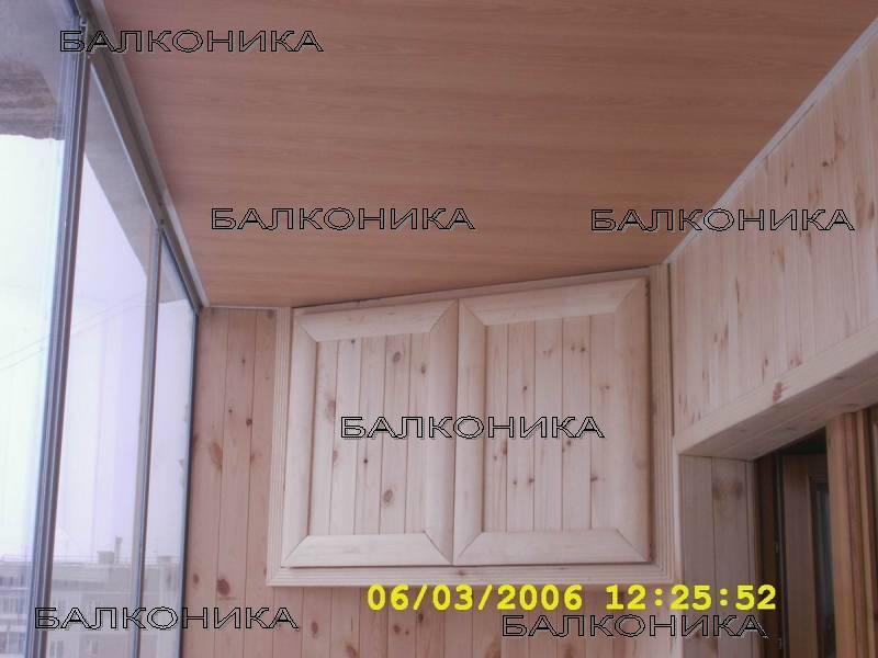 Антресоль на балконе