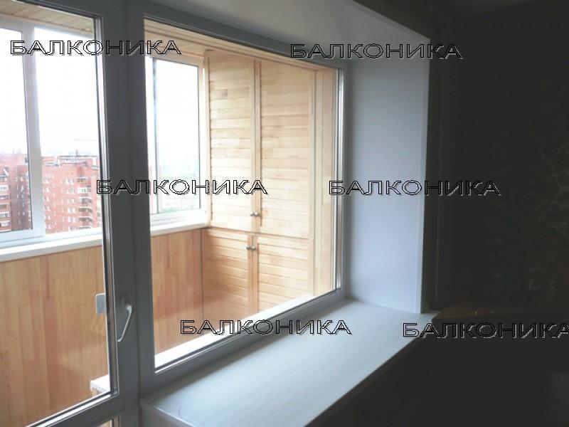 Пластиковые окна, балконные блоки.: фото выполненных работ п.