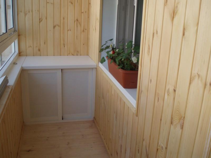 Что выбрать для внутренней отделки балкона? - екатеринбург.