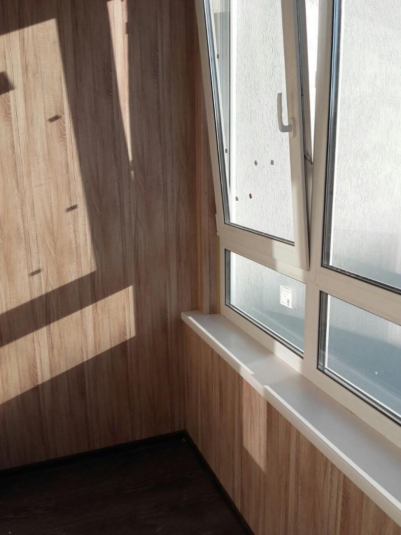 Обшивка балкона vla панелями видео.